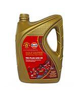 Aceite Tec Plus 10W40 x 4Lts. Semi-sintetico Gulf