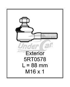 FIAT 125 63/82 EXT. EXTERIOR. L = 88 MM  M16 X 1