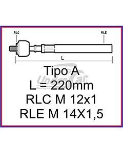 R18 FUEGO 85/93 AXIAL L=221 MM    M12 X 1