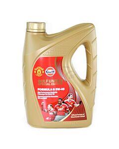 Aceite Formula G 5W40 x 4Lts Sintetico Gulf