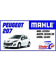 Peugeot 206 OX339/2D KL583 LX3354