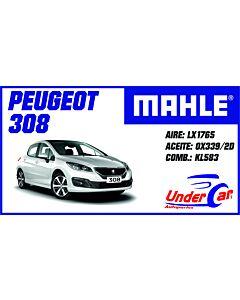 Peugeot 308 307 LX1765 OX339/2 KL583