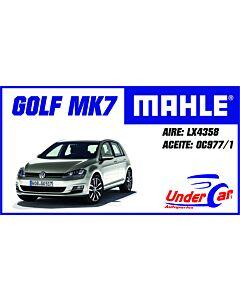 VW Golf MK7, VENTO MOTOR 1.4 TSI LX4358 OC977/1